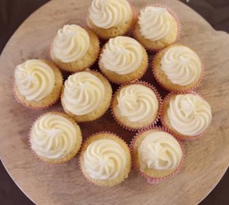 Wortelcupcakes met walnoten