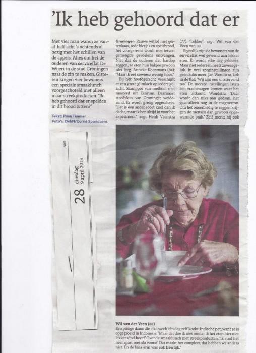 ArtikelDagbladSmaakdiner9-4-2013p2