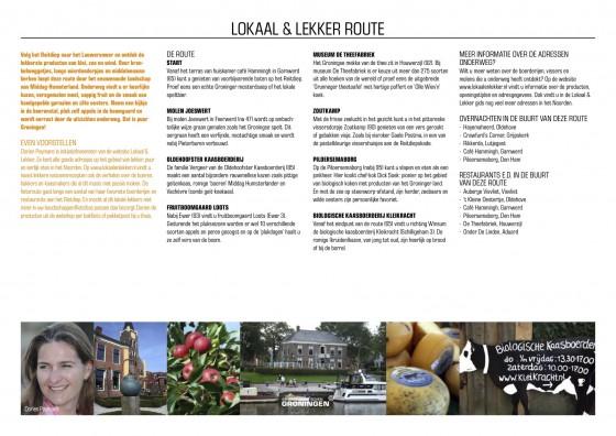 Lokaal & Lekker Route Groningen
