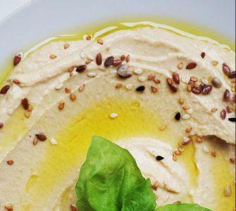 Hummus wraps met groenten